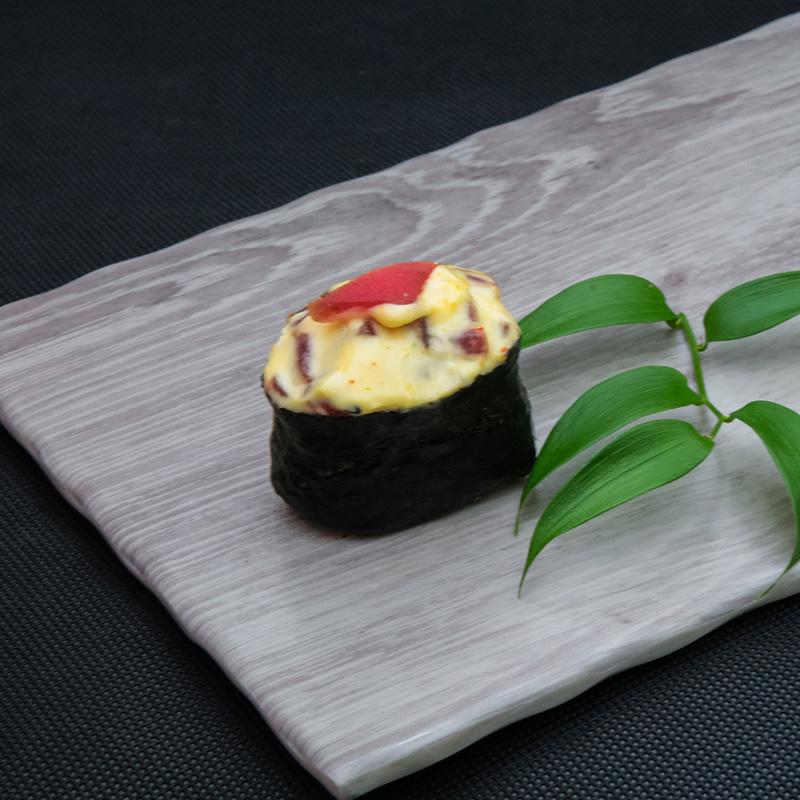 Hot tuna sushi