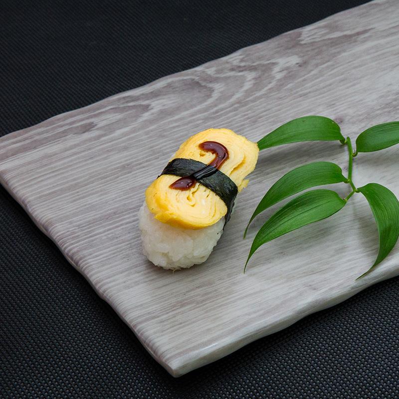 Japanese omlet sushi