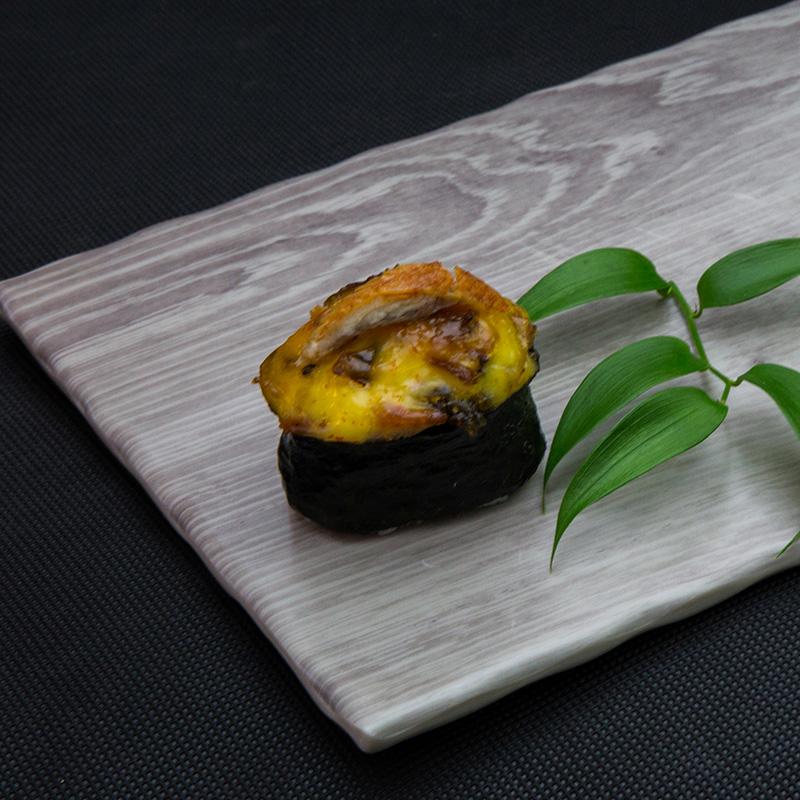 Backed eel sushi