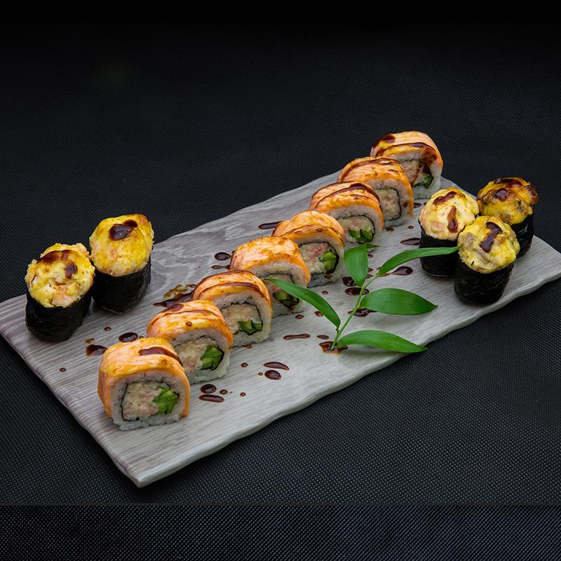 Küpsetatud Sushi set