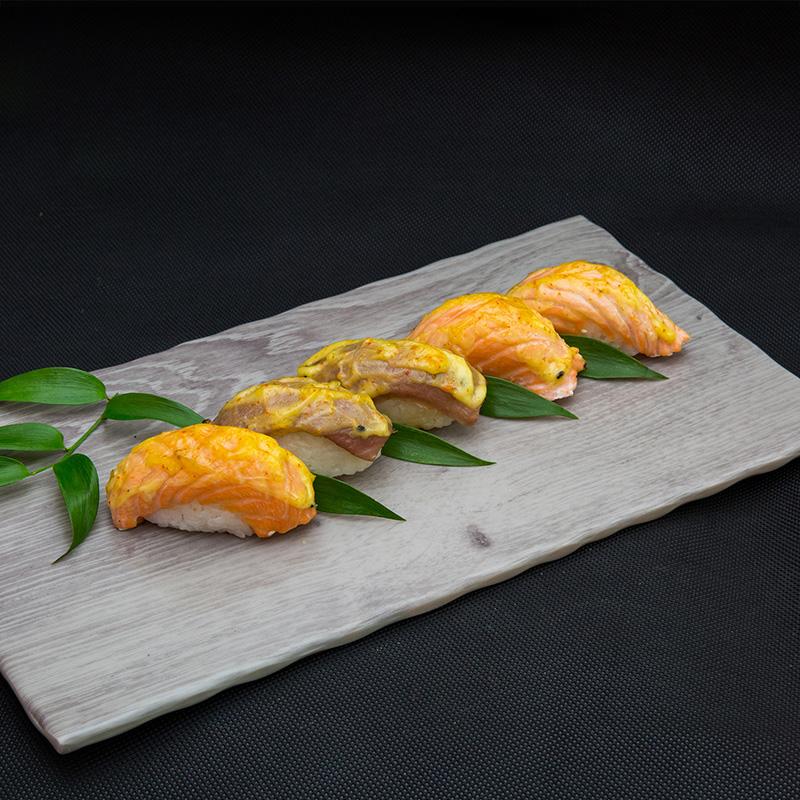 Küpsetatud nigiri